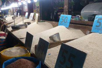 BACOLOD. Price of rice among retail markets in province ranges from P40 to 52 per kilogram, which is higher than the farmgate price of palay at P10 to P13 per kilogram. (Photo by Erwin P. Nicavera)