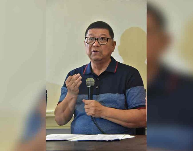 DAVAO. Philippine Sports Commission (PSC) Chairman William I. Ramirez bares in a press conference in Davao City Wednesday, November 20, that it was the  Philippine Southeast Asian Games Organizing Committee (Phisgoc) which made all transactions for the design and construction of the P55-million 30th SEA Games cauldron. (Photo by Macky Lim)