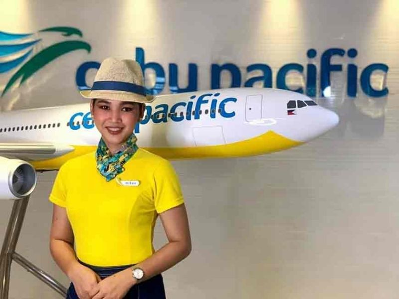 PAMPANGA. Mikee Vitug is one of the first transwomen hired as cabin crew in the Philippines. (Contributed photo)