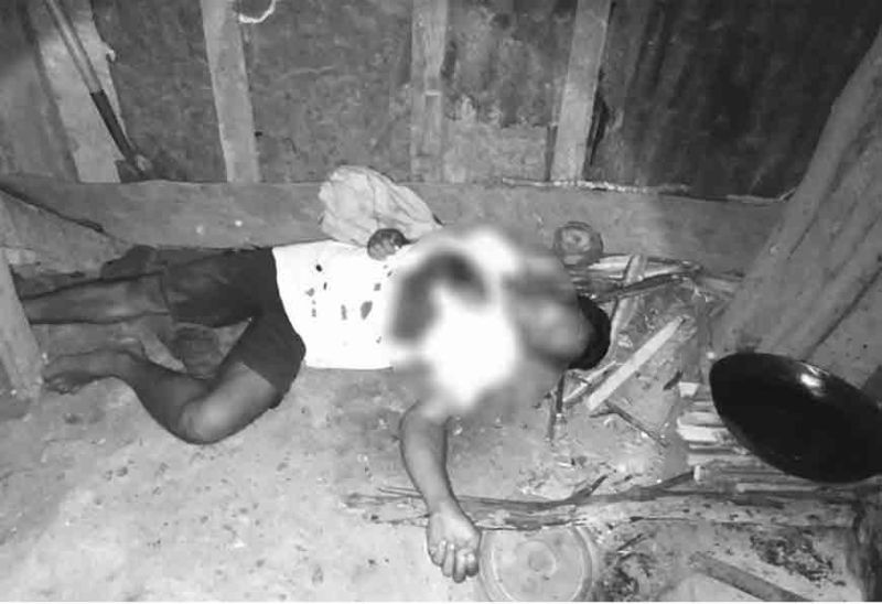 Father killed by his eight-year-old son inside their house in Sitio Manluy-a, Brgy. San Jose, Sipalay City Wednesday evening, November 20. (Sipalay City Police Station)