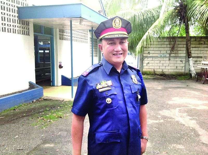Police Lieutenant Colonel Joie Pacito Yape Jr. was Provincial Intelligence Branch chief of the Cebu Police Provincial Office and he led raids against high-profile drug suspects. (Photo grabbed from Yape's Facebook account.)