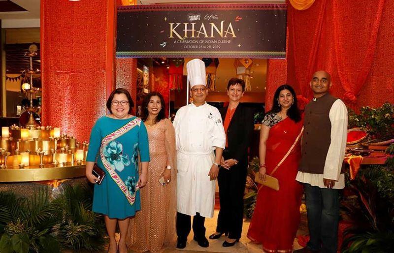 Lara Scarrow, Judeline Murjani, Chef Singh Amar, Michaela Priesner, Santhana Krishnan Vaidaiswaran, Gowri Ramachandran
