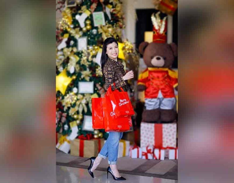 Christmas is Nicole's favorite time of the year and she takes gift-giving seriously. (Photo by Jinggoy Salvador)