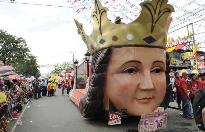HISTORICAL THEME. Floats for next year's parade will be based on themes depicting the story of the arrival of Christianity in the archipelago. (SunStar file photo)
