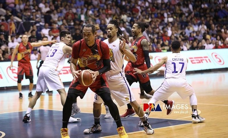 Cebuano June Mar Fajardo will once again play for flag and country. (PBA Images)