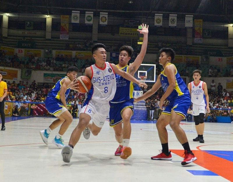 CEBU. Ateneo de Cebu head coach Rommel Rasmo still remembers the difficulties they faced last season, making their title win this year a lot sweeter. (Photo by Ron Tolin)