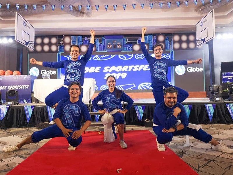 Ang Blue Team sa SunStar Davao