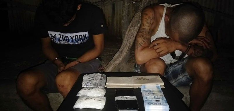 in custody. Operatives of the Philippine Drug Enforcement Agency (PDEA) 7  arrested Jack Branzuela and Jhon Luis Daan after they were caught selling drugs in Sitio Lutaw-Lutaw, Barangay Sto. Niño in Cebu City. SunStar Photo / Benjie B. Talisic