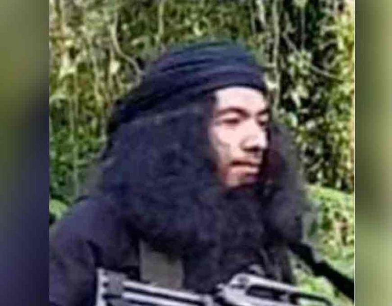 SULU. This undated photo provided by Joint Task Force Sulu, Talha Jumsah, who used the nom de guerre Abu Talha, walks in the jungles of Patikul, Sulu province, southern Philippines. Philippine military officials said troops have killed Jumsah, a