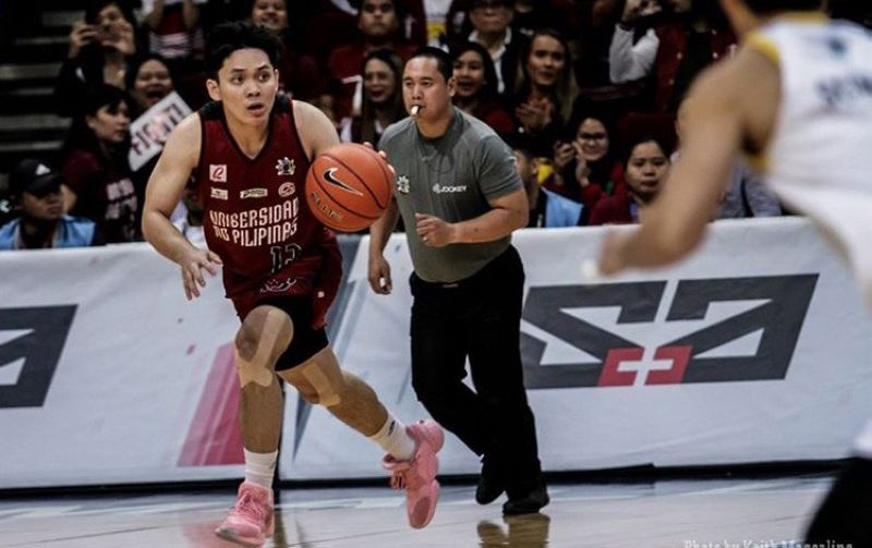Former University of the Visayas (UV) guard Jun Manzo is going to play for Zamboanga in the MPBL following his recent stint with the University of the Philippines (UP) Fighting Maroons. (Foto courtesy of Keith Magcaling of UP Men's Basketball)
