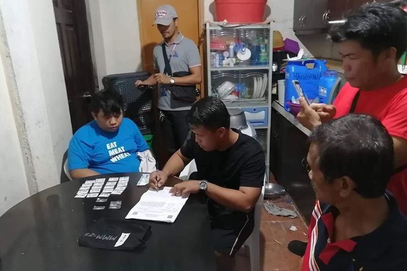 BACOLOD. An estimated P1.2 million worth of shabu was seized in a drug bust in Barangay Alijis, Bacolod City on Sunday afternoon, November 24. (Photo from BCPO)