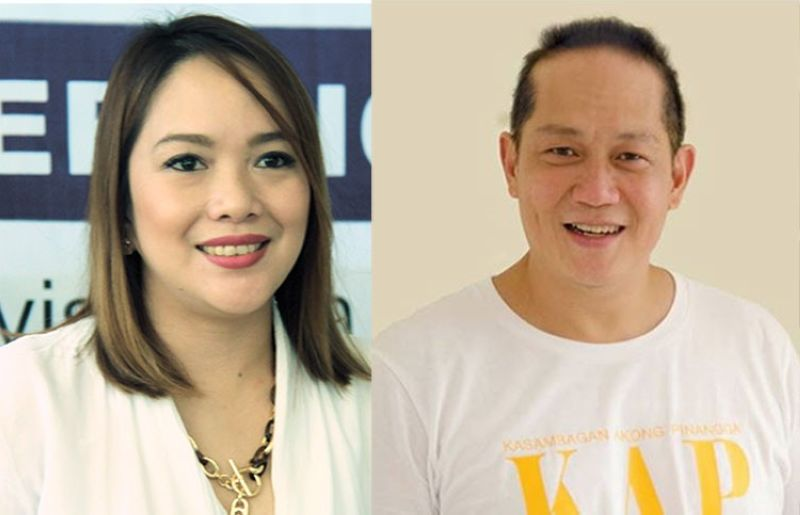 CEBU. Cebu City Councilors Niña Mabatid and Franklyn Ong. (SunStar File)