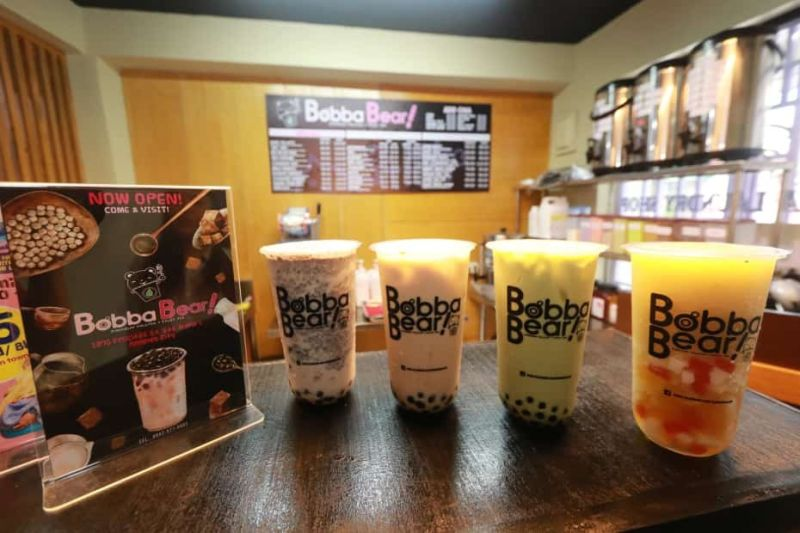 PAMPANGA. A variety of premium milk teas and fruit teas can be enjoyed at Bobba Bear's newest branch located at 1370 Felicitas St. Sta. Maria 1, Angeles City. They also deliver within the vicinity. (Chris Navarro)