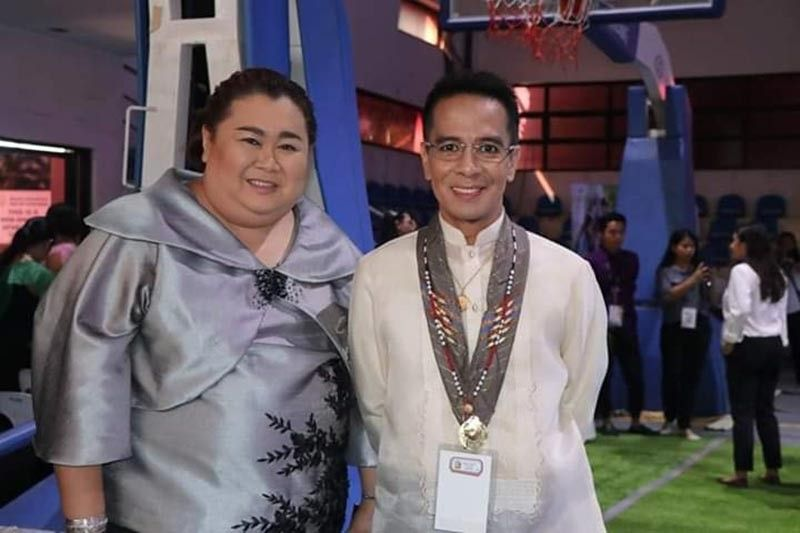 (From left to right) Prof. Manuel Dennis Molina - Vice President of Tagum Doctors College and Dr Joel Padoran - President, Tagum Doctors College and  Medical Director - Tagum Doctors Hospital.