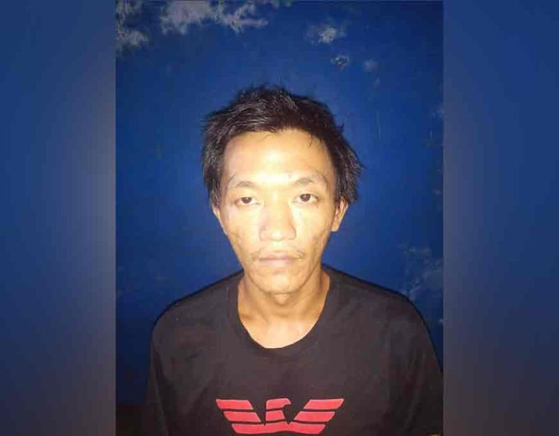 BACOLOD. Robbery suspect Clint Agravante. (Photo from BCPO)
