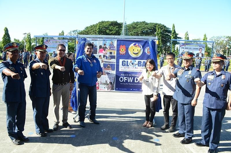 PAMPANGA. Police Regional Office-Central Luzon launched the overseas Filipino workers desks that will be present in all police stations in Central Luzon. (Contributed photo)