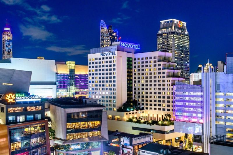 THAILAND. Novotel Bangkok at Siam Square is in a perfect location. (Photo from Novotel)