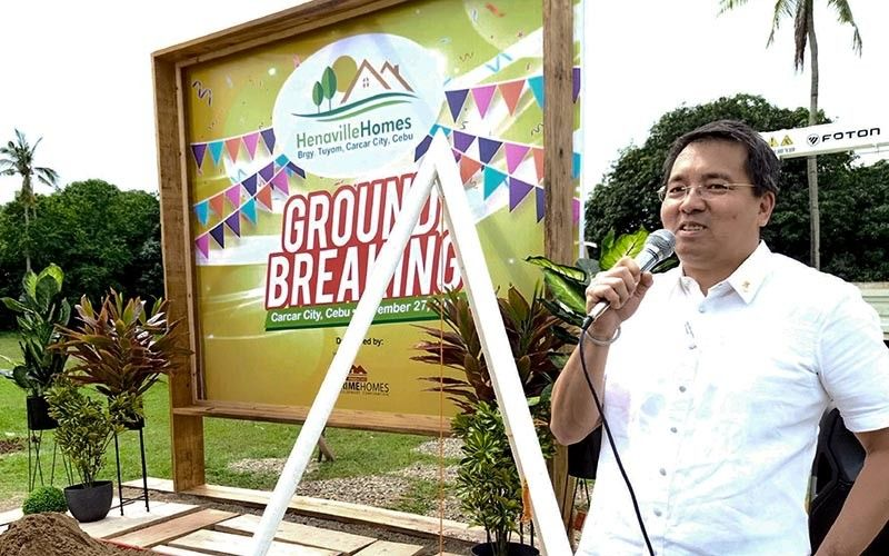 ECONOMIC HOUSING. Primehomes Development Corp. will build 231 economic and socialized houses in Carcar City, Cebu a rising hub for housing development, according to its president and chief executive officer Benny Que. (Contributed photo)