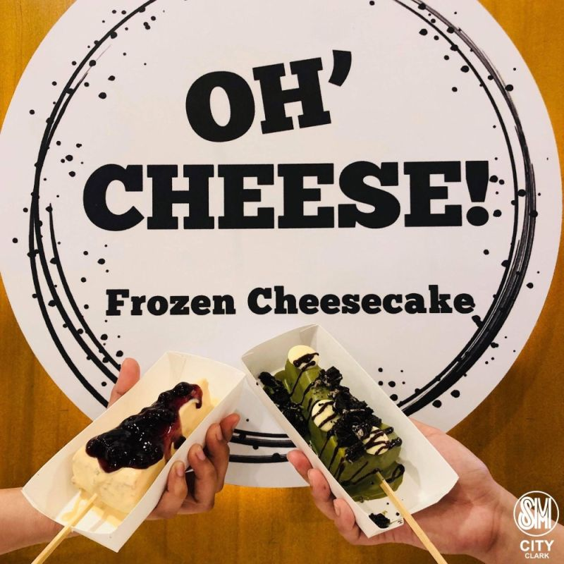 PAMPANGA. Oh' Cheese! is now open at SM City Clark. (Contributed Photo)