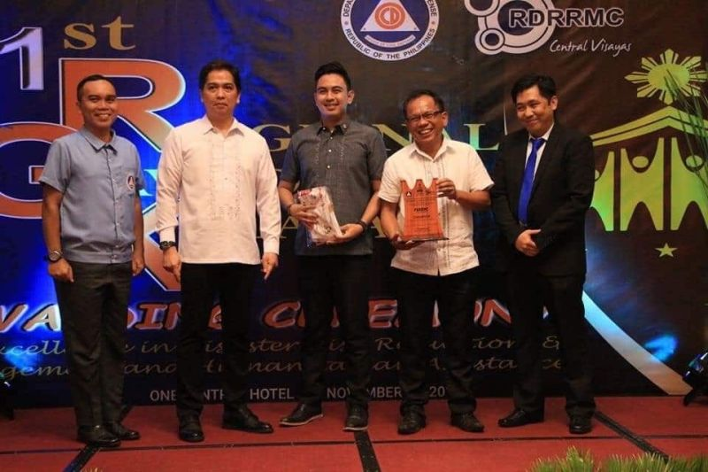 THREE IN A ROW.  The Regional Disaster Risk Reduction and Management Council 7 named Cebu Province's disaster body as the best in Central Visayas for the third straight year. (Contributed photo)