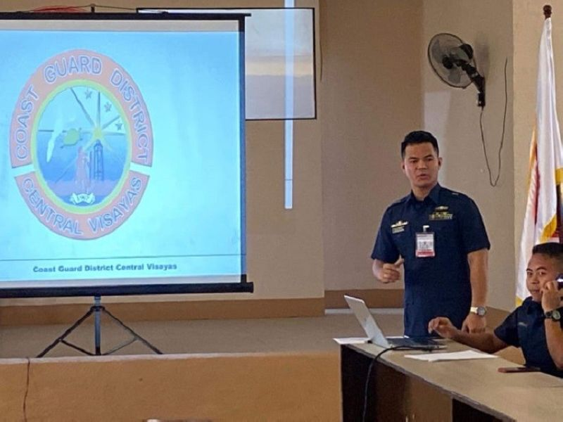 CEBU. The Mactan-Cebu International Airport Authority  and the Philippine Coast Guard District Central Visayas are set to conduct the first ever sea crash simulation exercise in the country. (Photo by Wenilyn Sabalo)