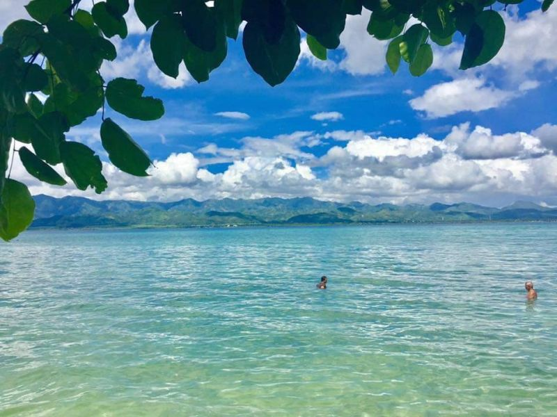 NEGROS. Sipaway Island in San Carlos, one of the city's tourist destinations. (Photo by Gabb Advincula)