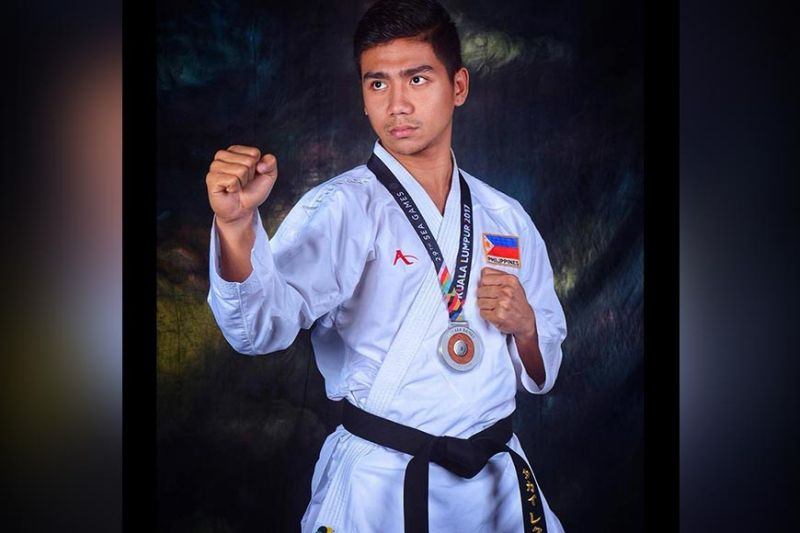 DAVAO. Twenty-ninth Southeast Asian (SEA) Games karatedo silver medalist Rexor Romaquin Tacay of Davao City is ready to compete for Team Philippines in the 30th edition of the biennial meet. (Rexor Romaquin Tacay Facebook)