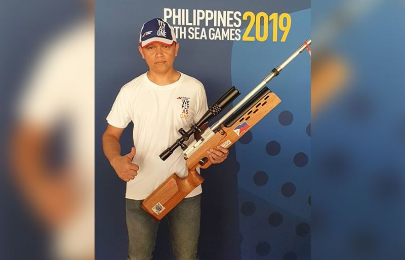 DIFFERENT FLAG. Cebuano airline captain Ditto Nestor Dinopol, an A320 pilot for Philippine Airlines, will be donning the country's colors in the shooting competition of the 2019 Southeast Asian Games. (Contributed photo)