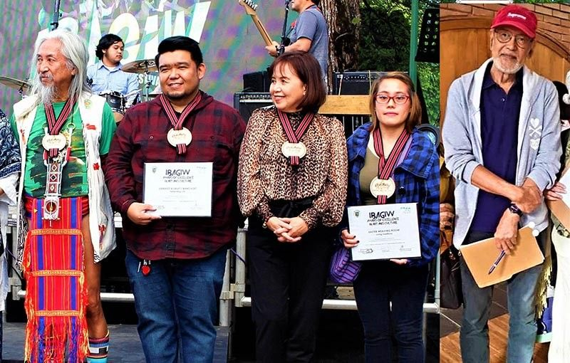 The Ibagiw Awardees for excellence in Art and Culture 2019. (Photo by Osharé)