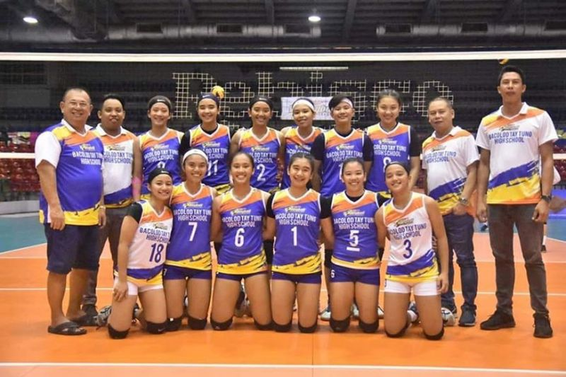 BACOLOD. Bacolod Tay Tung High School finishes fourth overall in the just-concluded  Rebisco Volleyball League National Championshipsplayed at the Ynares Sports Center in Pasig City. (Biboy Calamba Photo)