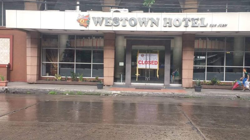 BACOLOD. Bacolod padlocks the two hotels in the city for operating without business permit on Friday, November 29, 2019. (RMN-DYHB photo)