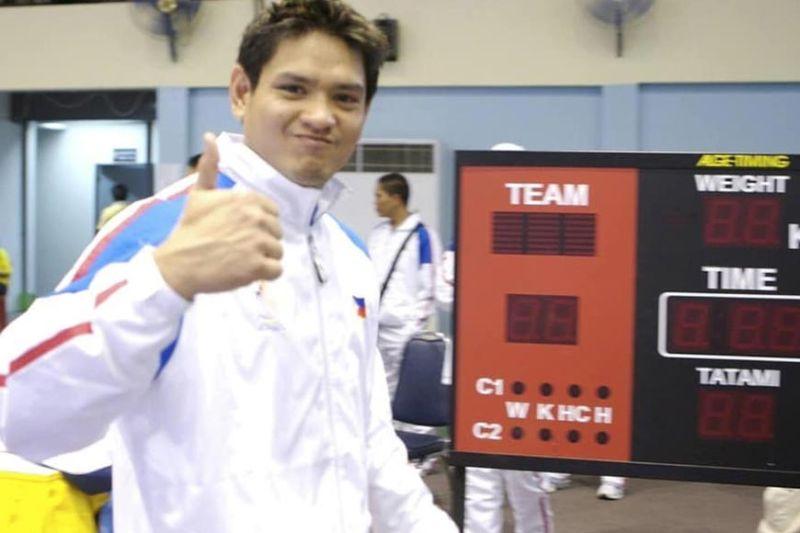 MANILA. Karatedo SEA Games legend Jose Mari Pabillore of Cagayan de Oro. (Contributes photo)