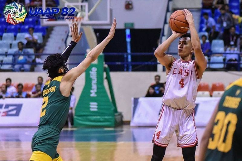 Former two-time Cesafi MVP Rey Suerte heads the 71-man list that make up the 2019 PBA Draft. (Courtesy of the UAAP)