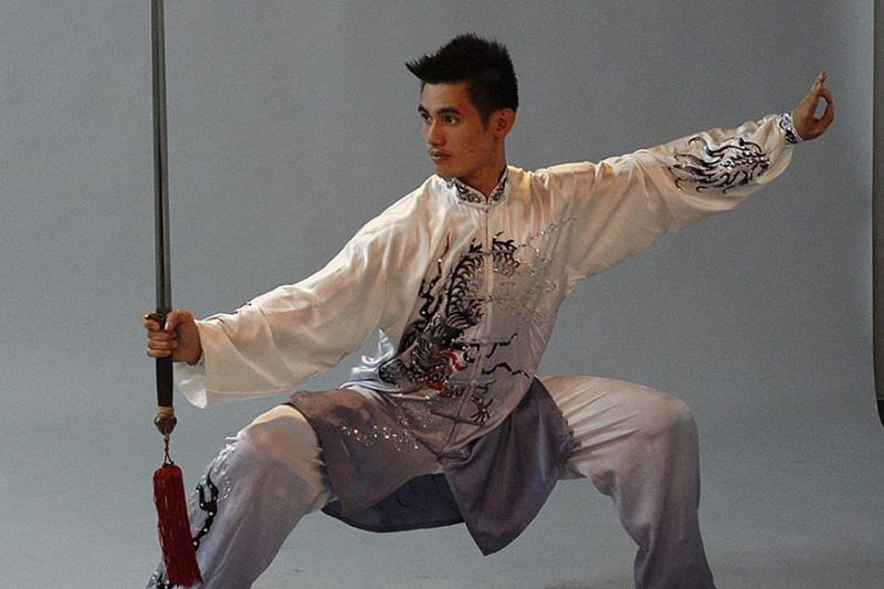 GOLDEN BRONZE. After taking a time off, Daniel Parantac returned to action, winning a bronze medal in the men's taolu taijiquan event of the 30th Southeast Asian Games. (SSB file photo)