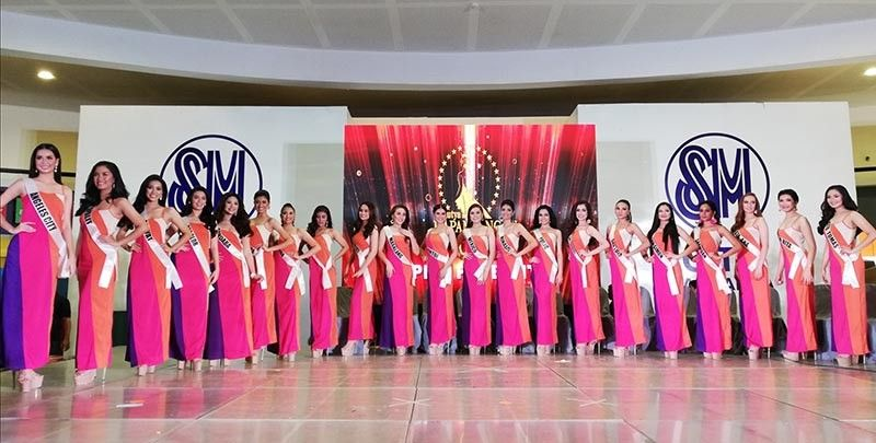 PAMPANGA. Twenty-one lovely candidates representing their respective towns and cities are vying for the coveted Mutyaning Kapampangan 2019 crown. (Contributed photo)