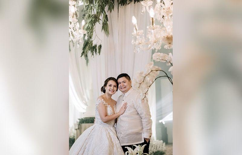 Mr. and Mrs. Ian Borromeo (Nina Angeli Tiongko).