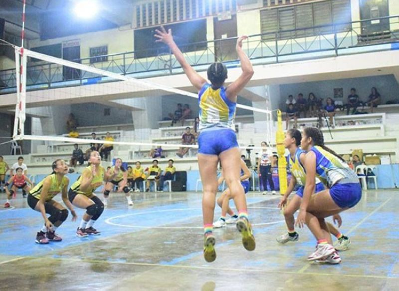 ONE GAME AWAY. The women's volleyball team of BIT International College is a game away from sweeping the volleyball finals of the Bohol Schools Athletic Association. (Contributed photo)