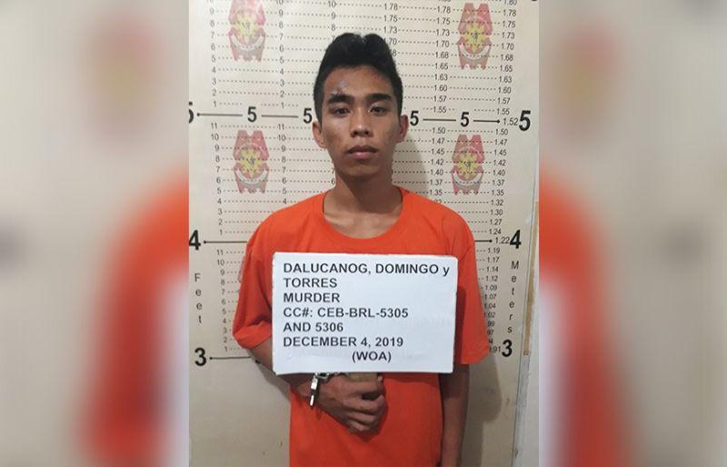 DAKPAN LAGI: Si Domingo Dalucanog nga wanted sa kasong murder nadakpan sa kapulisan sa lungsod sa Dumanjug samtang nakig-date sa iyang uyab. (Tampo sa Dumanjug Police)