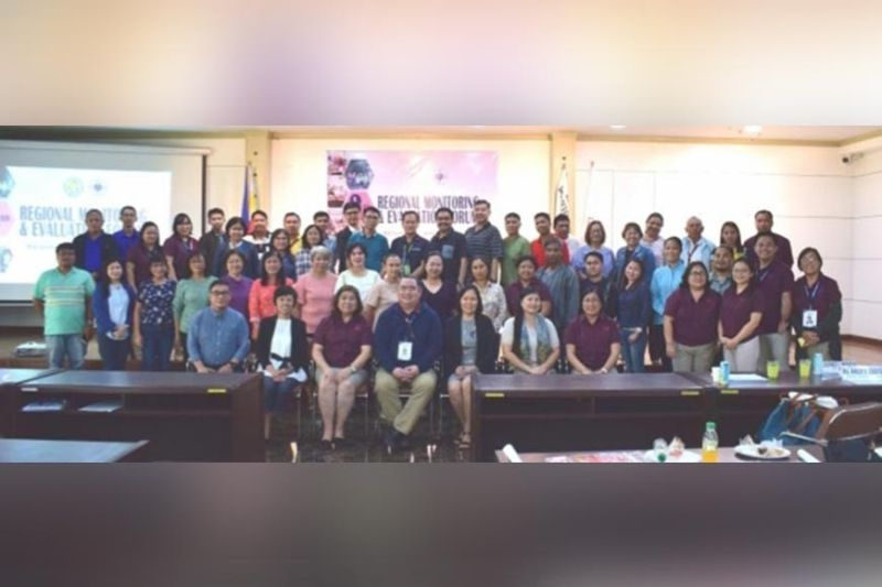 ILOILO. The participants of the 3rd Regional Monitoring and Evaluation Forum initiated by Neda-Western Visayas in Iloilo City recently. (Contributed Photo)