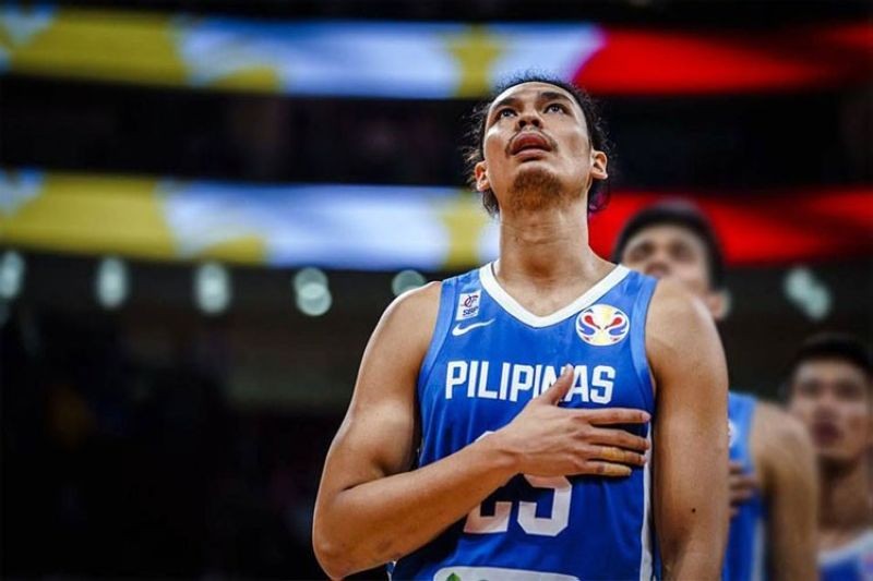 The Gilas Pilipinas' bid for a 13th straight gold medal in the 30th Southeast Asian (SEA) Games men's basketball competition got off to a rousing start as they beat Singapore, 110-58. (Foto courtesy of Gilas Pilipinas Facebook page)