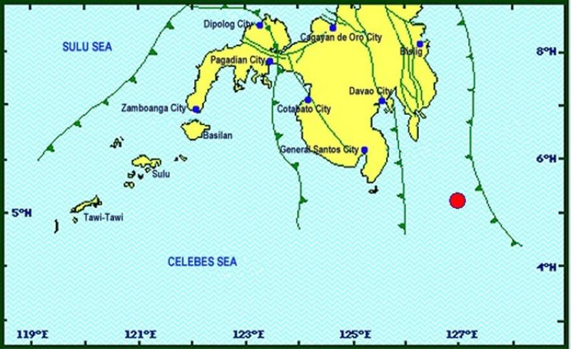Image from Phivolcs