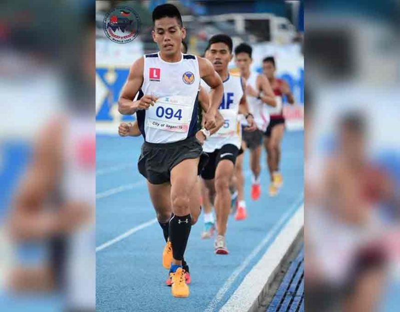 MEDAL HOPEFUL. Southeast Asian (SEA) Games newbie Anthony Nerza will try to win a medal when he races in the men's marathon in Subic today, December 6. (Patafa Photo)