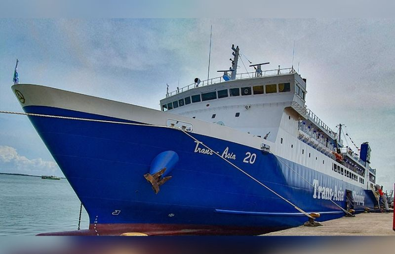 NEW INVESTMENT. Trans-Asia 20 is a brand-new roll-on roll-off ship made in Japan. It will serve the Cebu-Cagayan de Oro route. (SunStar photo/Arni Aclao)