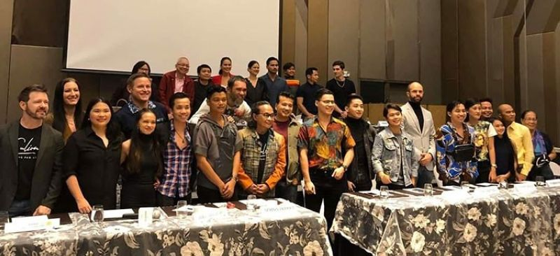 MANILA. Cast members of the movie Culion in a press conference on December 5, 2019 at Novotel in Araneta Center. (Edmund Silvestre)