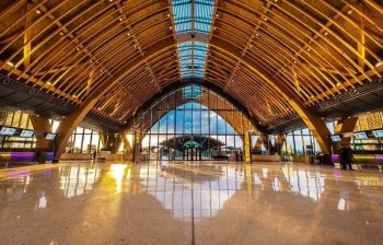 WINNER. The Mactan-Cebu International Airport has bested Singapore's Jewel Changi Airport and Turkey's Istanbul Airport in the World Architecture Festival 2019. (Photo courtesy of MCIA)