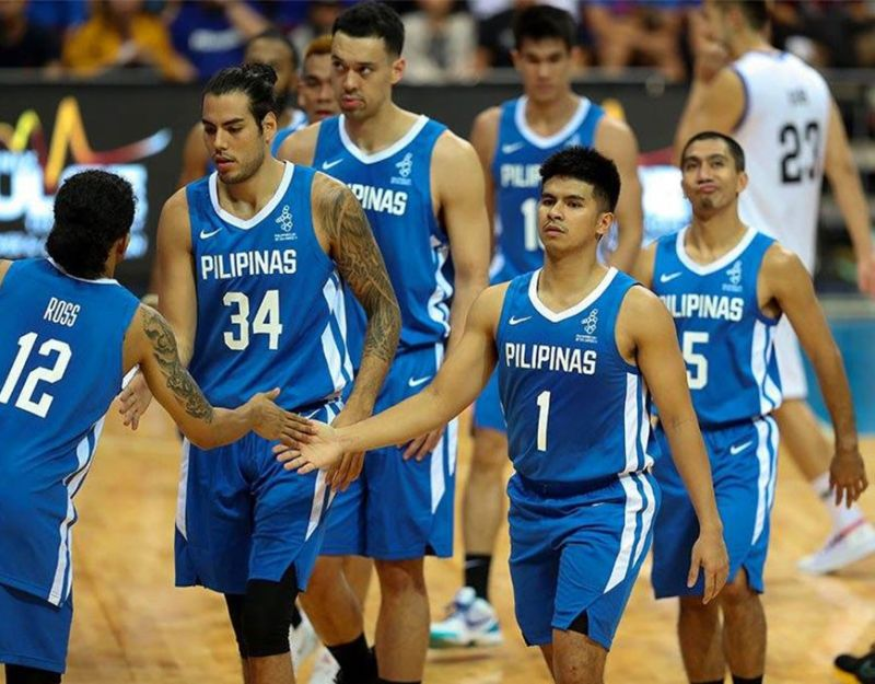 The Gilas Pilipinas defeated Myanmar by a whopping 69 points, 136-67, in the 30th Southeast Asian Games men's basketball tournament. (Gilas Pilipinas)
