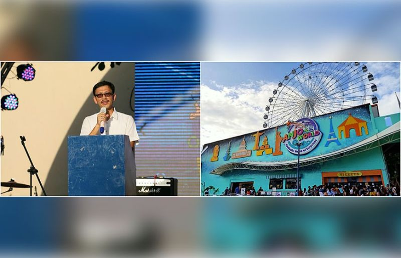 ANJO WORLD. Belmont One president Chester Lim invited the public in the newest family destination of thrilling rides and food stalls in Belmont One Commercial Complex in Calajoan, Minglanilla. This here is another holiday treat for the children.