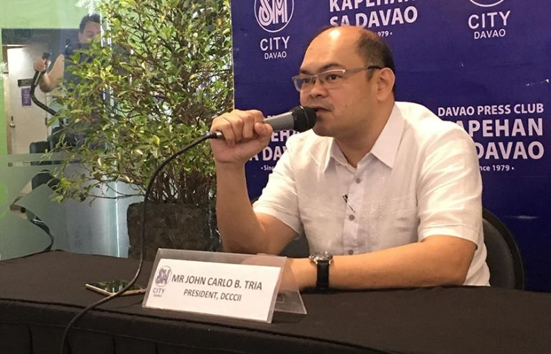 In a press conference, Monday, Davao City Chamber of Commerce and Industry, Inc., executive vice-president John Carlo B. Tria said the chamber vowed to initiate interventions to increase the yields of mangoes and avocados as they have seen a potential in the export market. (Roberto A. Gumba Jr.)