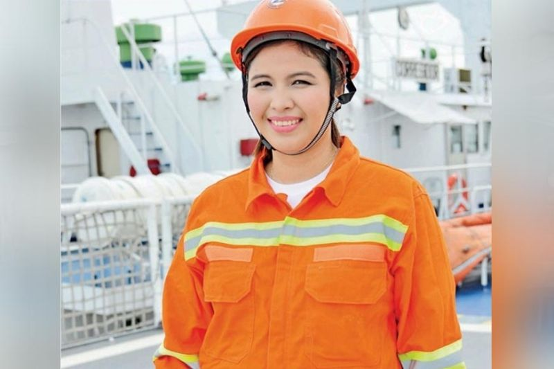 PASSION FOR BUSINESS, FAMILY. Marine chief engineer turned entrepreneur Niña Sue Da Silva says passion is an important ingredient to become successful in business. (Contributed photo)