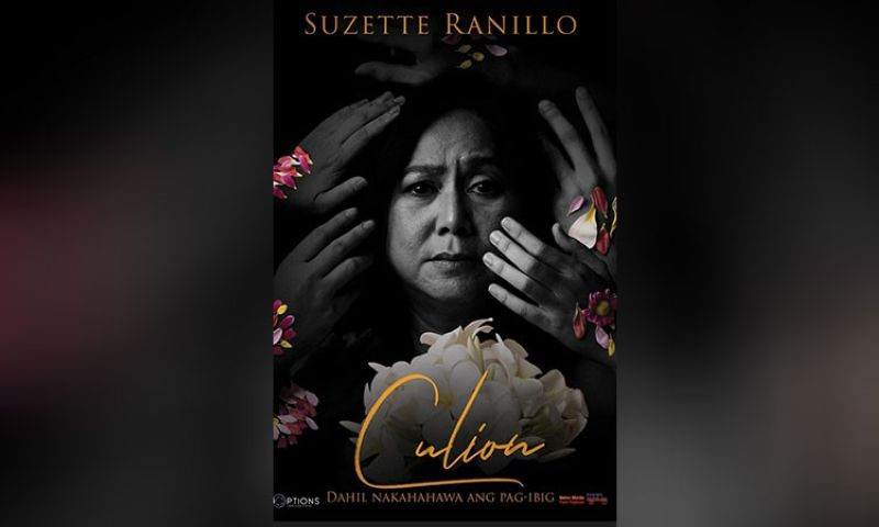 MANILA. Suzette Ranillo as Nay Mameng in a movie poster for 'Culion.' (Contributed photo)